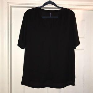 NYDJ black blouse